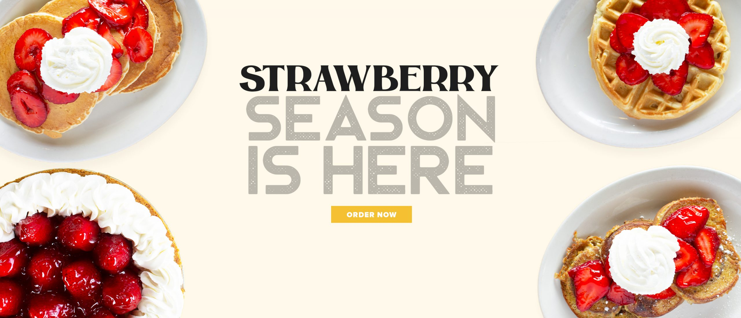Strawberry season is here! Order now