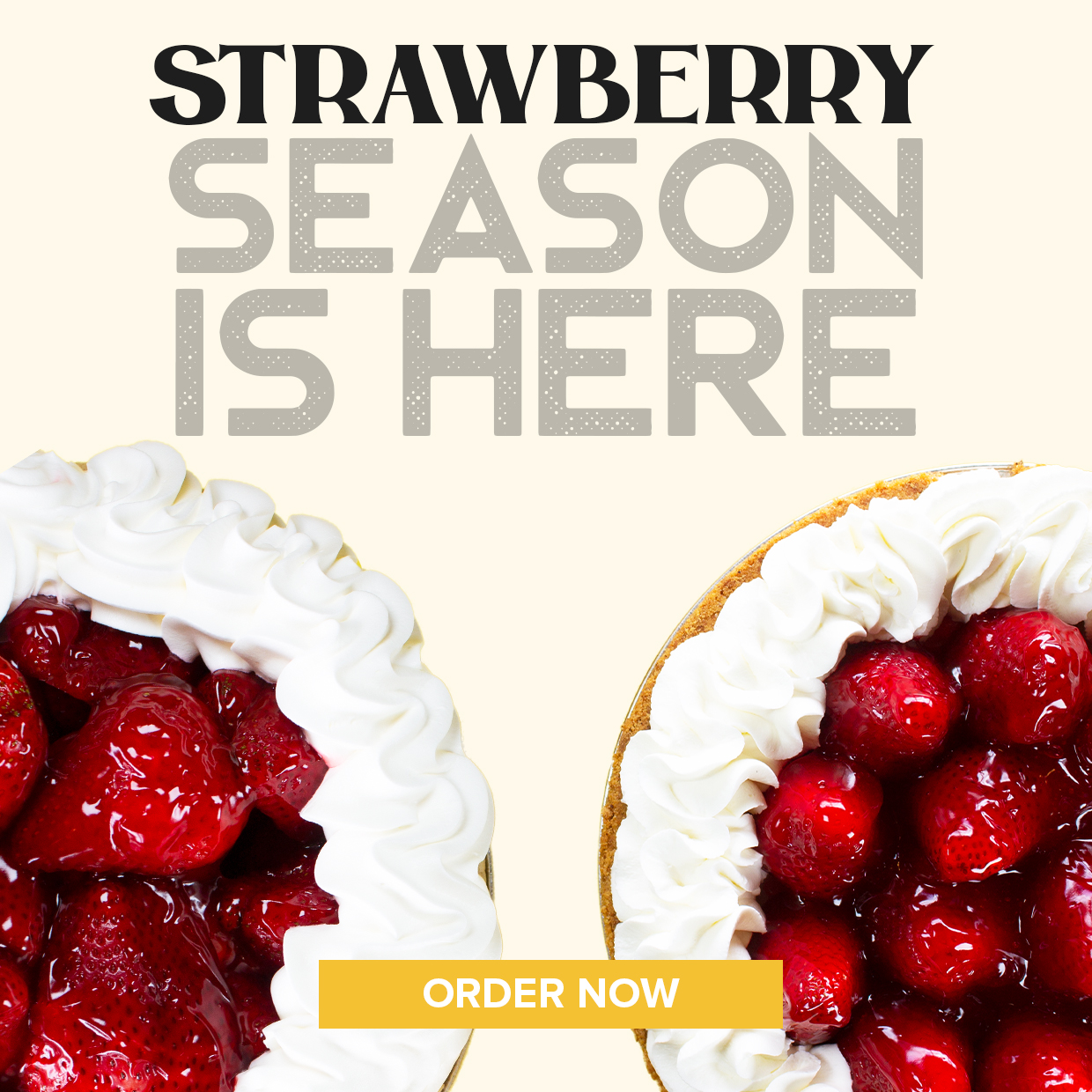 Strawberry season is here. Order Now.