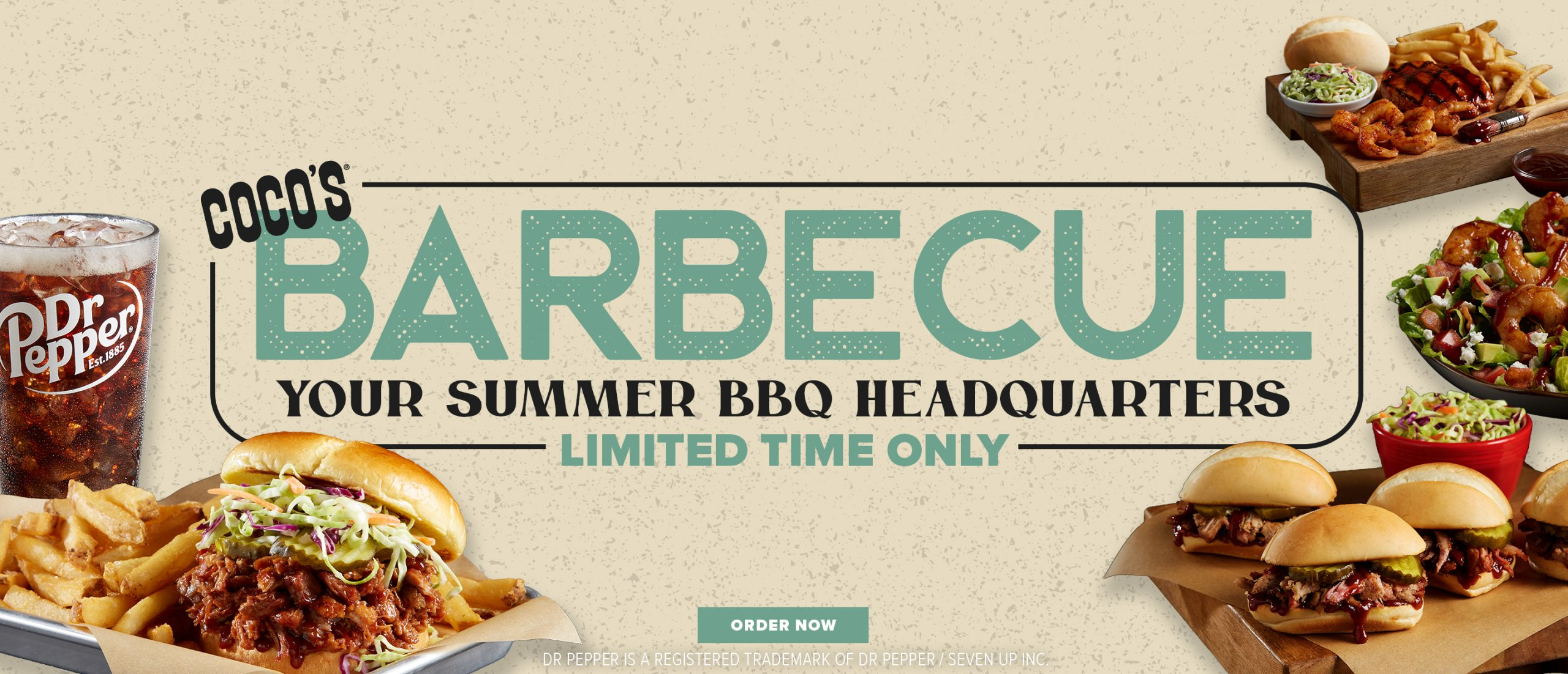 Coco's Barbecue Your summer BBQ Headquarters Limited Time Only. Order Now